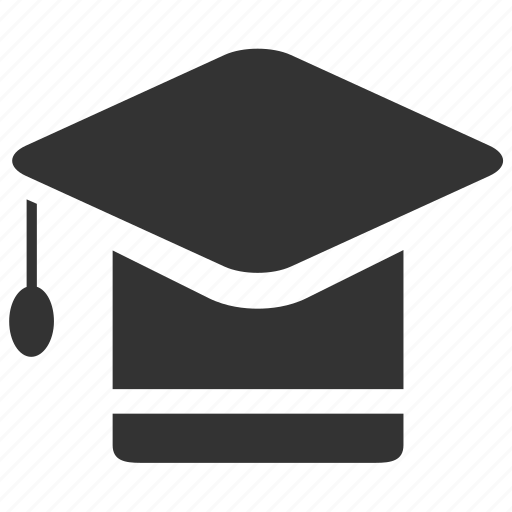 Education, graduate hat, graduated, college, school, student, university icon - Download on Iconfinder