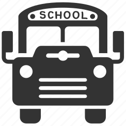 bus, delivery, school, school bus, transport, transportation, vehicle icon