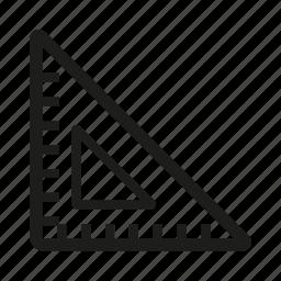 edit, ruler, tool icon