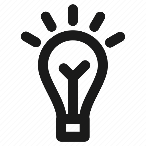 education, electric, idea, lamp, light, school, smart icon