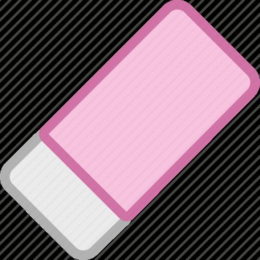 erase, eraser icon