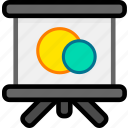 slideshow, tutorial icon