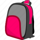 bag, education, learning, studying icon