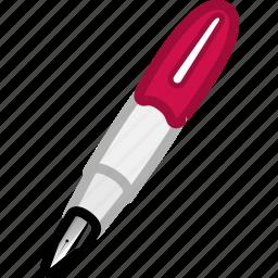 author, editor, pen, writer icon