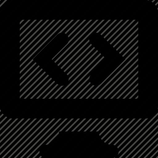 code, computer icon