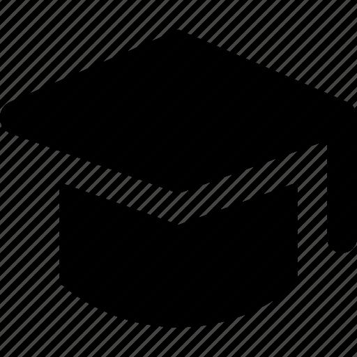 cap, graduation icon