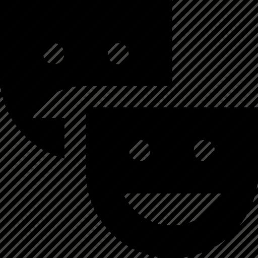 masks, theater icon