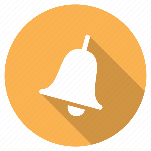 alarm, alert, bell, education, notification, student, university icon