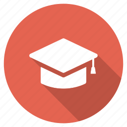college, education, graduation, knowledge, school, toga, university icon