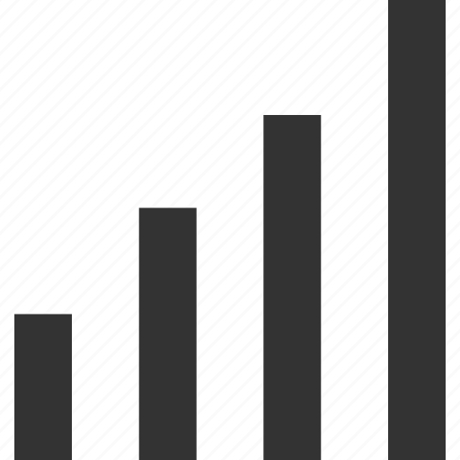 bars, connect, data, graph, online, report, sign icon