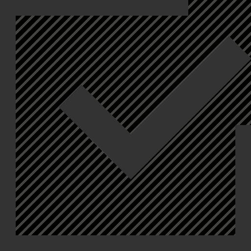 approved, box, check, homework, list, mark, ok icon