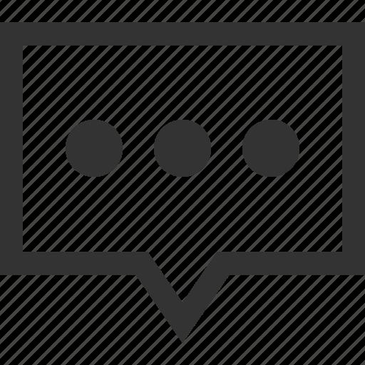 bubble, chat, circles, conversation, message, talk, text icon