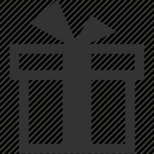 box, gift, item, ribbon, suprise, wrapped icon