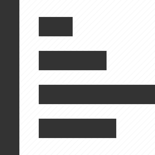 bars, data, graph, lines, menu, report icon