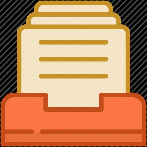 binders, files, files storage, folder, sheets icon