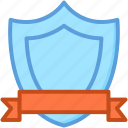 award, emblem, honor, shield, winning shield icon