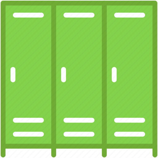 almirah, cabinets, drawers, furniture, lockers icon