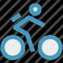 bike, bike cycle, cycle, cycling, cyclist icon
