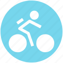 bike, bike cycle, cycle, cycling, cyclist icon