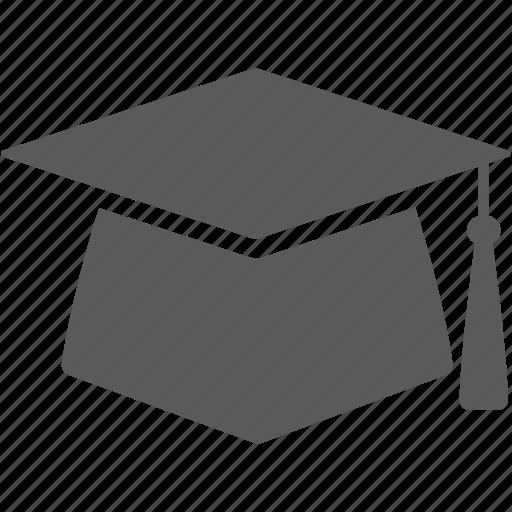 cap, graduation cap, hat, university icon
