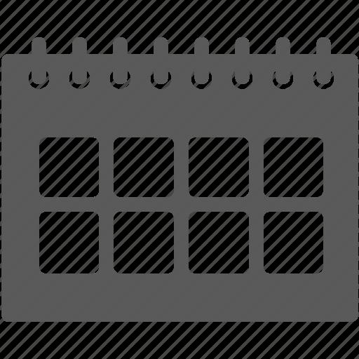 business, calendar, date, scadule icon