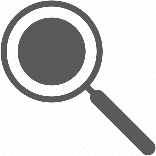magnifier, search, ui, zoom icon