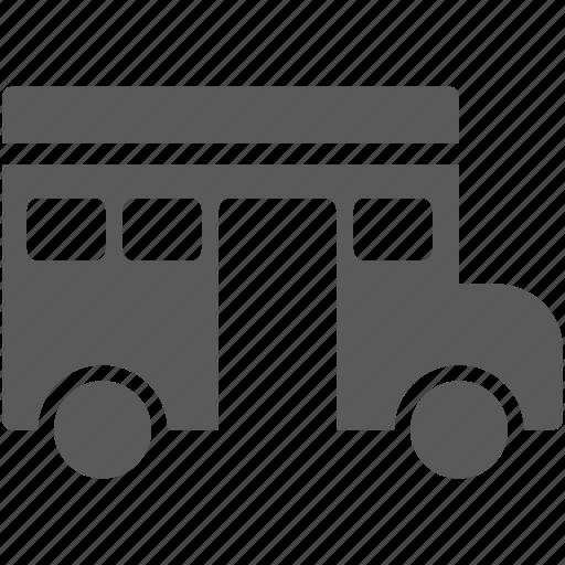 bus, school, schoolbus, transportation, vehicle icon