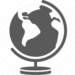 business, earth, geography, global, globe, map, world icon
