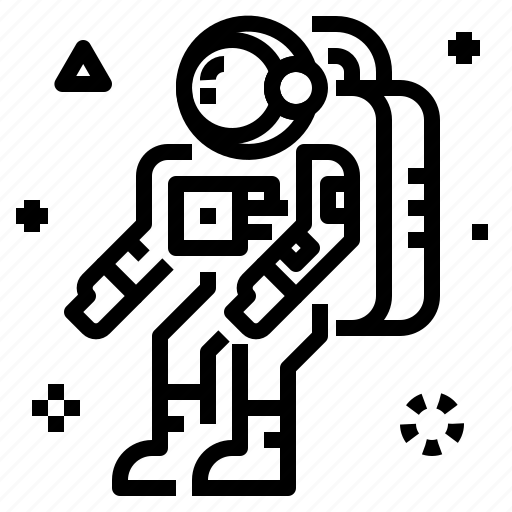 Astronaut icon - Download on Iconfinder on Iconfinder