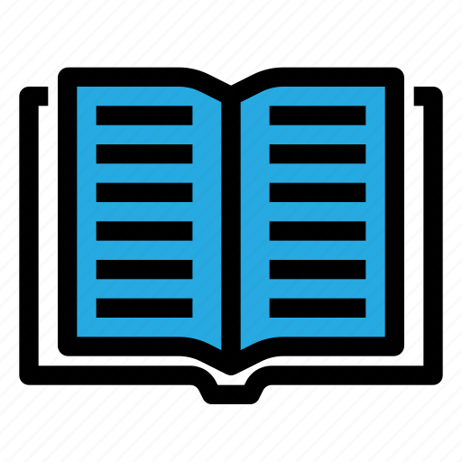 book, education, knowledge, read, school, study icon