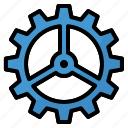 cog, gear, interface, options, settings, setup icon