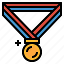 award, gold, medal, prize, winner icon
