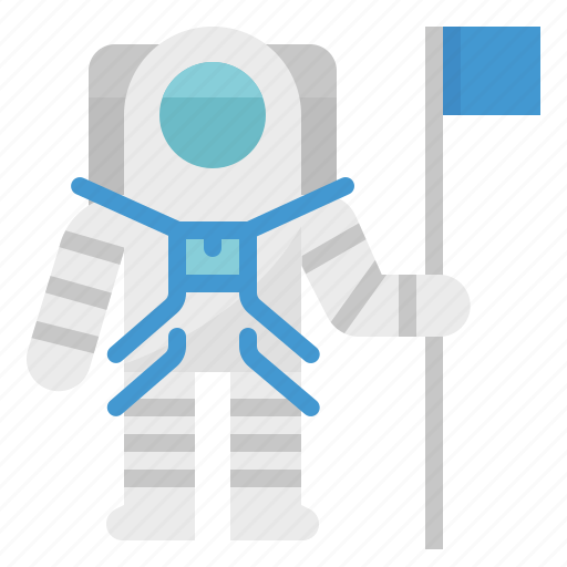 astronaut, galaxy, moon, space, suit icon
