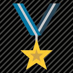 award, medal, winner icon