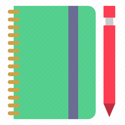 book, diary, note, organizer icon