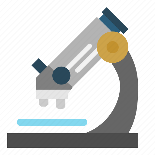 chemistry, laboratory, microscope icon
