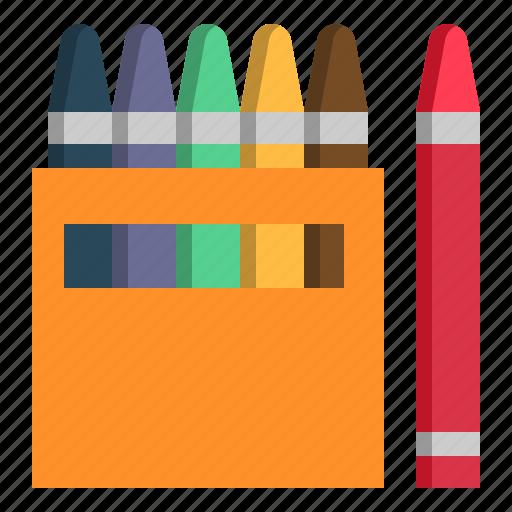Child, color, colour, crayon, school, tools icon - Download on Iconfinder