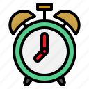 alarm, clock, time, up, wake icon