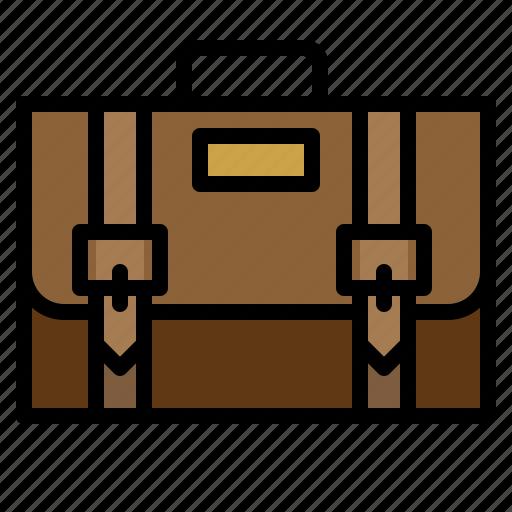 bag, briefcase, handbag, suitcase icon