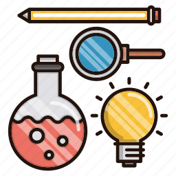 education, formal, school, science, study, tools icon