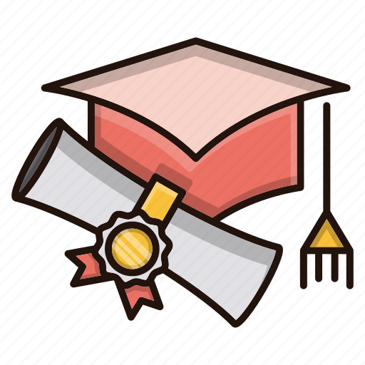 Degree, education, graduation, hat, school, study icon - Download on Iconfinder