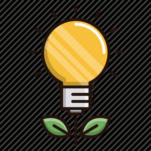 bulb, education, growth, idea, school, study icon