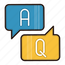 answer, chat, education, help, question, school, study icon