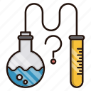 education, lab, school, science, study, tests icon