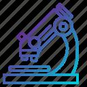 chemistry, laboratory, microscope icon