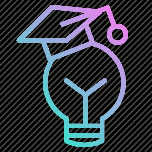 cap, education, graduate0a, idea icon