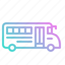 automobile, bus, school, transport, transportation, vehicle icon