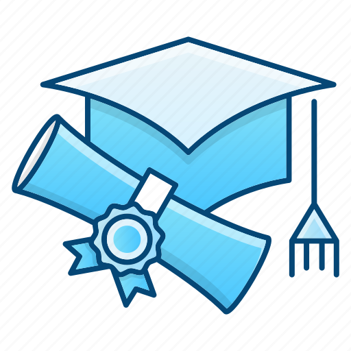 Cap, diploma, education, graduation icon - Download on Iconfinder