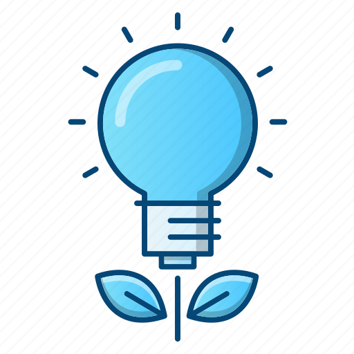bulb, education, growth, idea, investments icon