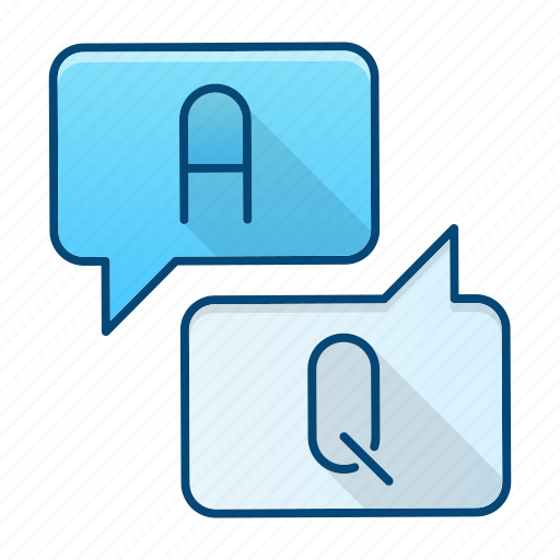 answer, bubble, education, help, question icon